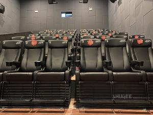 Buy cheap Strong Tech 4D Cinema Motion Seats Leather Chair Customizable Logo product