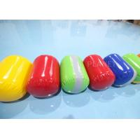 Buy cheap 50cm Dia 60cm Height Multiple Colour Inflatable PVC Cylindrical Buoy product