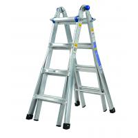Buy cheap Twin Step Aluminium Alloy Ladder 2 Scaffold Bases EN131 Certificated product