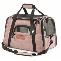 Buy cheap Durable Airline Approved Pet Carrier Bag For Biking / Travel OEM/ODM Acceptable product