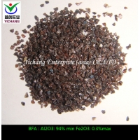 Buy cheap Brown aluminum oxide with non magnetic macrogrits for sandblasting pipe and from wholesalers