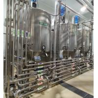 Buy cheap SUS 304 UHT Milk Processing Line 1000-100000LPH Capacity 12 Months Warranty product
