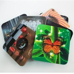 Buy cheap 2020 fashion christmas 3D Lenticular greeting cards,glitter printing cards 3D lenticular postcard product