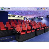Buy cheap Various Special Effects 5D Theater With 5D Motion Chair For Fantastic Future Cinema product