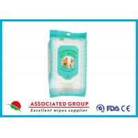 Quality Biodegradable Dog Face Wipes Preservative Free With Sanitizing for sale