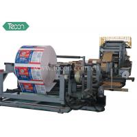 Buy cheap High Speed Cement Paper Bag Making Machine with Servo System product