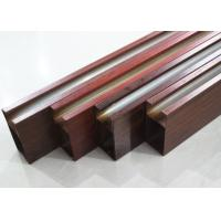 Buy Linear Aluminium Metal Drop Ceiling Tiles Metallic 0.8mm , Heat transfer coating at wholesale prices