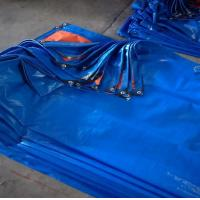 Buy cheap 100% Virgin Materials Blue UV PE Tarpaulin For Outdoor Cover product