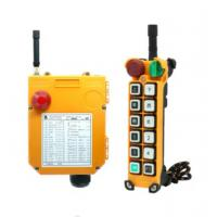 Buy cheap wireless/radio remote control for kinds of cranes with double speed from wholesalers