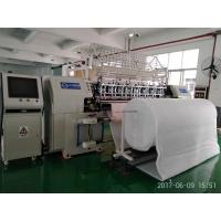 Buy cheap High Precision Automatic Lock Stitch Quilting Machine CNC System 128 Inch Width product