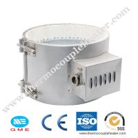 Buy cheap Durable 12V 220V Electric Ceramic Band Heater For Injection Molding Machine product