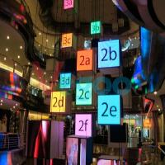 High Brightness Led Public Display 3mm Led Screen 1R1G1B / SMD2121 Black Lamp