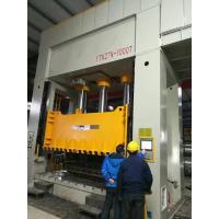 Buy cheap 1000 Ton Deep Drawing H Frame Hydraulic Press Machine PLC Control product