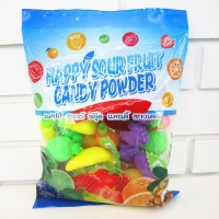 Buy cheap Candy powder Sour Powder Candy With Fruit Shape Packed In Bag Yummy And Lovely product