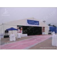 Quality 500 Seaters Custom White Outdoor Event Tent , Corporate Event Tent Marquee for sale