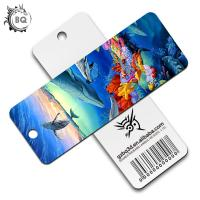 Buy cheap Plentiful Designs Deep 3D Lenticular Bookmark / Personalized Picture Bookmarks product