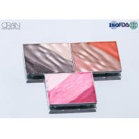 Buy cheap OEM square multi-color waved shadow palette Strong High Pigment Eyeshadow product
