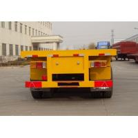 Buy cheap 3 AXLES/60T TRACTOR SKELETON TRAILER,40 FOOT/ 45 FOOT CONTAINER SEMI TRAILER from wholesalers