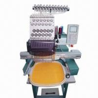 China Portable Cap Tubular Embroidery Machine with Maximum Speed of 1,000rpm on sale
