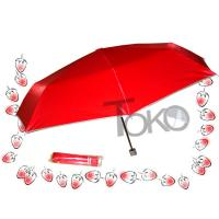 Buy cheap UV Protection Manual Open Umbrella , Two Person 3 Fold Umbrella Sturdy Frame product