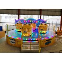 Buy cheap Anti Corrosion Paint Kiddie Amusement Rides Customized Color 1 Year Warranty product