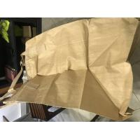 Buy cheap PP Big Jumbo Bulk Bags For Cement / Laminated Big Bags For Packaging product