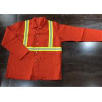 Buy cheap Nomex Flame Resistant Protective Clothing Firehouse Radiation Protection product