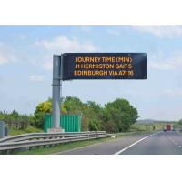 Buy cheap Fixed Electronic LED Traffic Display Full Color  Brightness ≥ 7500 cd/sqm product