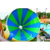 Buy cheap Exciting Fiberglass Big Tornado Water Slide 4 Loads For Outdoor Water Park product