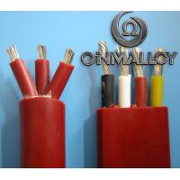Quality Thermocouple Stranded Twisted tinned Copper silicone insulated wires 3x2.5 cross section for sale