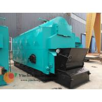 Quality 1-20 T/H Wood Biomass Fired Steam Boiler , Chain Grate Stoker Boiler for sale