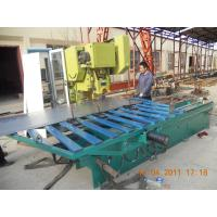 Buy cheap H Type Blue Color Perforated Metal Mesh Machine High Speed Hole Pounching product