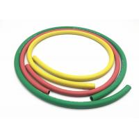 Buy cheap Green Yellow Red Color Two Layers Polyester Fiber Braided Rubber Air Hose product