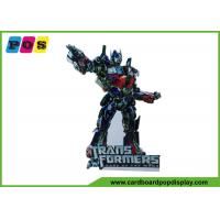 Buy cheap Foldable Transformers Corrugated Standee Display Advertising Stand AD012 from wholesalers