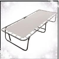 Buy cheap Metal Folding Rollaway Guest Bed Frame Without Mattress product