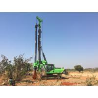 Buy cheap TYSIM KR125A  Piling Rig Machine for Foundation Construction , Bored Hole Pile Machinery product