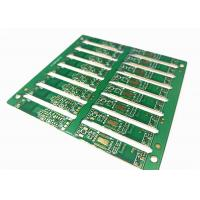 Buy cheap Green Soldermask 1.6MM Layers HDI Printed Circuit Board with ENIG/ HASL from wholesalers