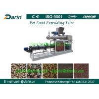 Buy cheap High Capacity Pet Food Processing Line , Animal Food Making Machine product
