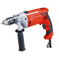 China Aluminum Head Shell Electric Impact Drill With Auxiliary Handle And Depth Gauge on sale