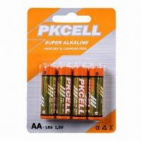 Buy cheap Alkaline Batteries, AA/AM-3/LR6 with Alkaline MO from wholesalers