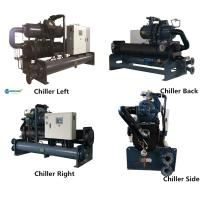 Buy cheap HDPE Pipe Equipment Industrial Water Chiller Shell and Tube Water Chiller product