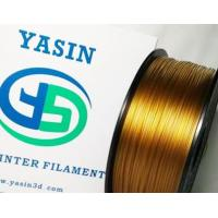 Buy cheap Gold 1.75MM High Temp 3D Printer Filament 1KG / Spool With Good Chemical Resistance product