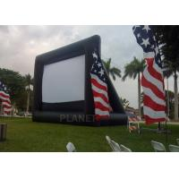 Buy cheap Advertising Inflatable Outdoor Movie Screen , Inflatable Projector Screen product