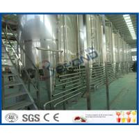 Buy cheap Beverage Manufacturing Soft Drink Making Machine , Soft Drink Plant Machinery product