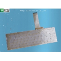 Buy cheap 78 Key Silicone Pill Double Layer PET Flex Circuit For Notebook Keyboard product