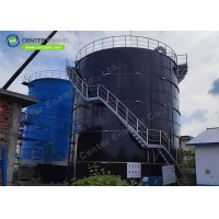 Buy cheap Bolted Steel Industrial Wastewater Storage Tank For Waste Water Treatment Plant product