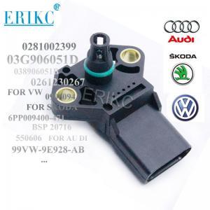 Buy cheap ERIKC autoparts 0281002399 car MAP Manifold Absolute intake Pressure Sensor 038906051B 0281002401 product