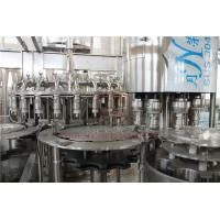 Buy cheap Low Foam Dosing Hot Juice Filling Machine With Long Tube PET Bottle Filler product