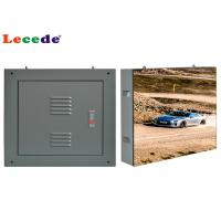 Buy cheap P4.8 Advertising Outdoor Fixed LED Display Steel Waterproof Cabinet product