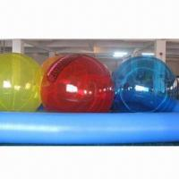 Buy cheap Water Walking Ball, Made of PVC and TPU from wholesalers